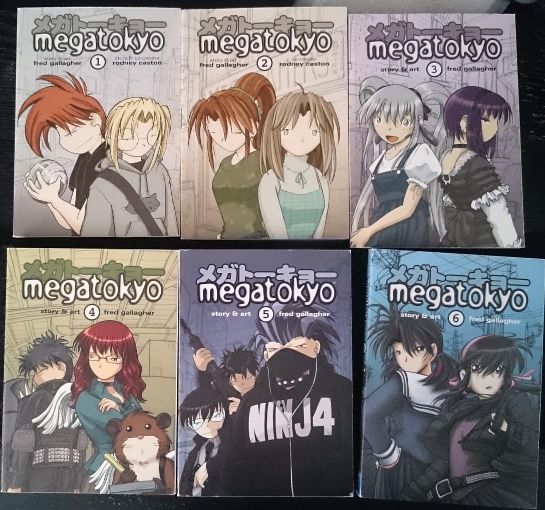 [VDS] Manga Megatokyo vol 1 à 6 J3vG