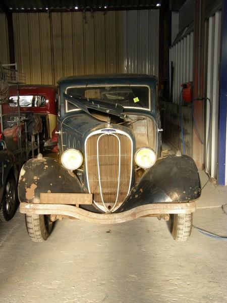 Ma Chenard & Walcker Y10D de 1934 SOYR