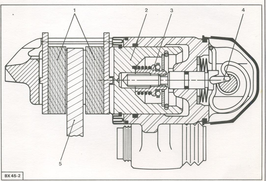 zx freins refection complete des freins clat des triers arri re