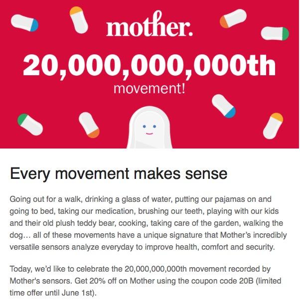 Sense Mother: le nouveau gadget de Rafi Haladjian - Page 5 ONiy