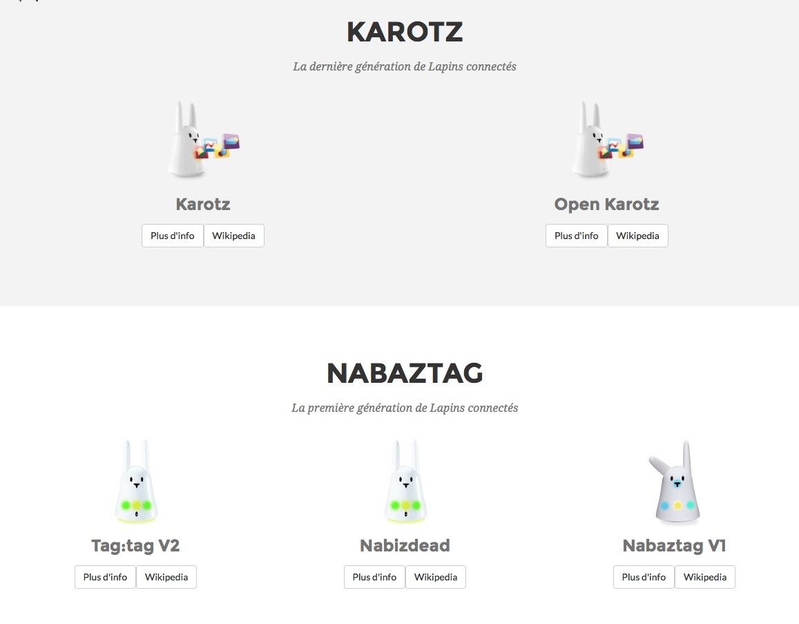 nabaztag.com, le résumé! XluK